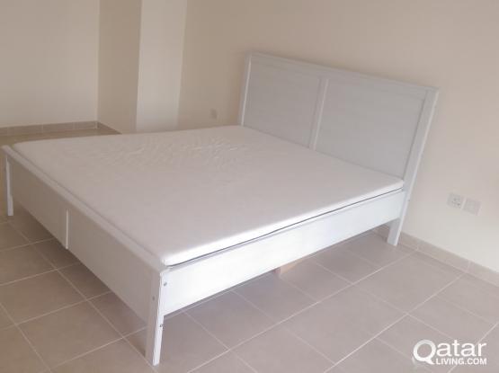 Ikea Bed with Mattress QAR 350