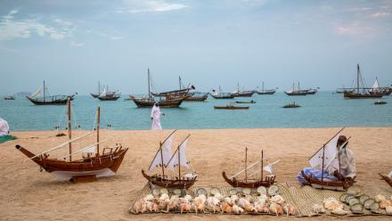 WATCH:10th Katara Traditional Dhow Festival is taking place at Katara Cultural Village