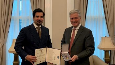 Qatar's FM receives top US honor for distinguished public service