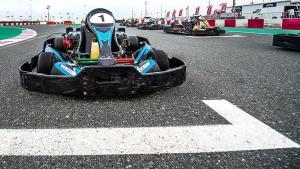 Go-karting at Losail Circuit
