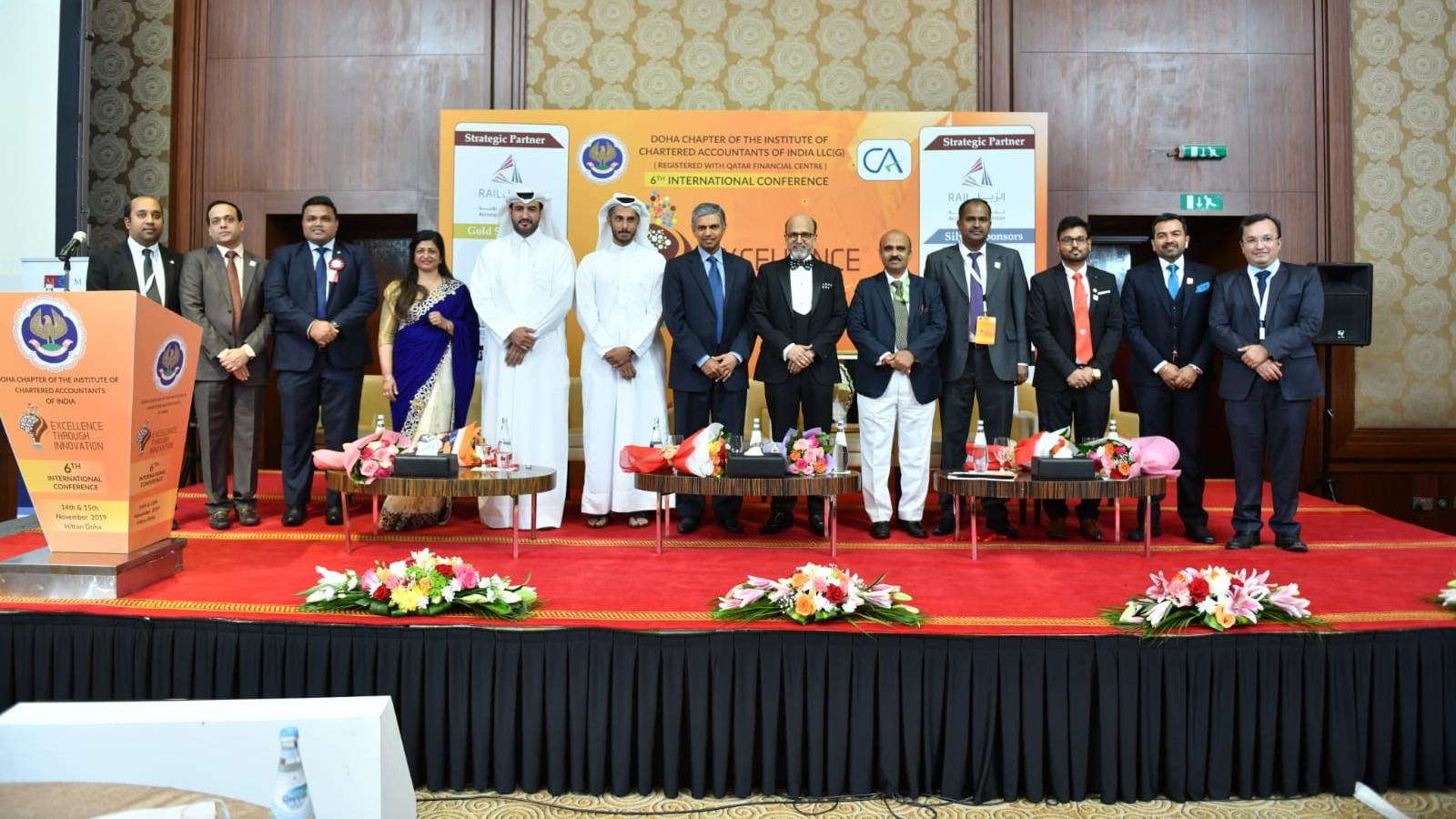 """Doha Chapter of ICAI organizes 6th International Conference on 'Excellence Through Innovation"""""""