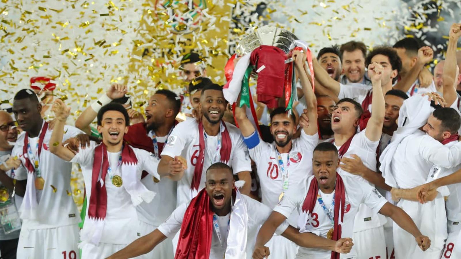 The FIFA has praised Qatar's footballing achievements