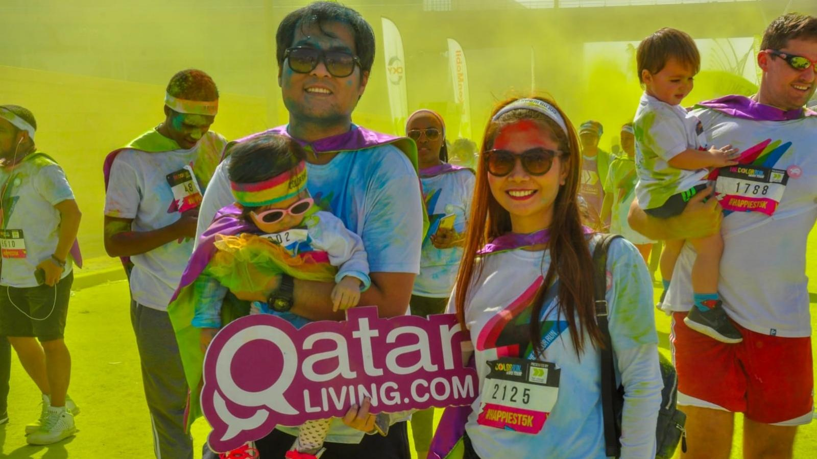 Gear up for The Color Run presented by Sahtak Awalan: Your Health First