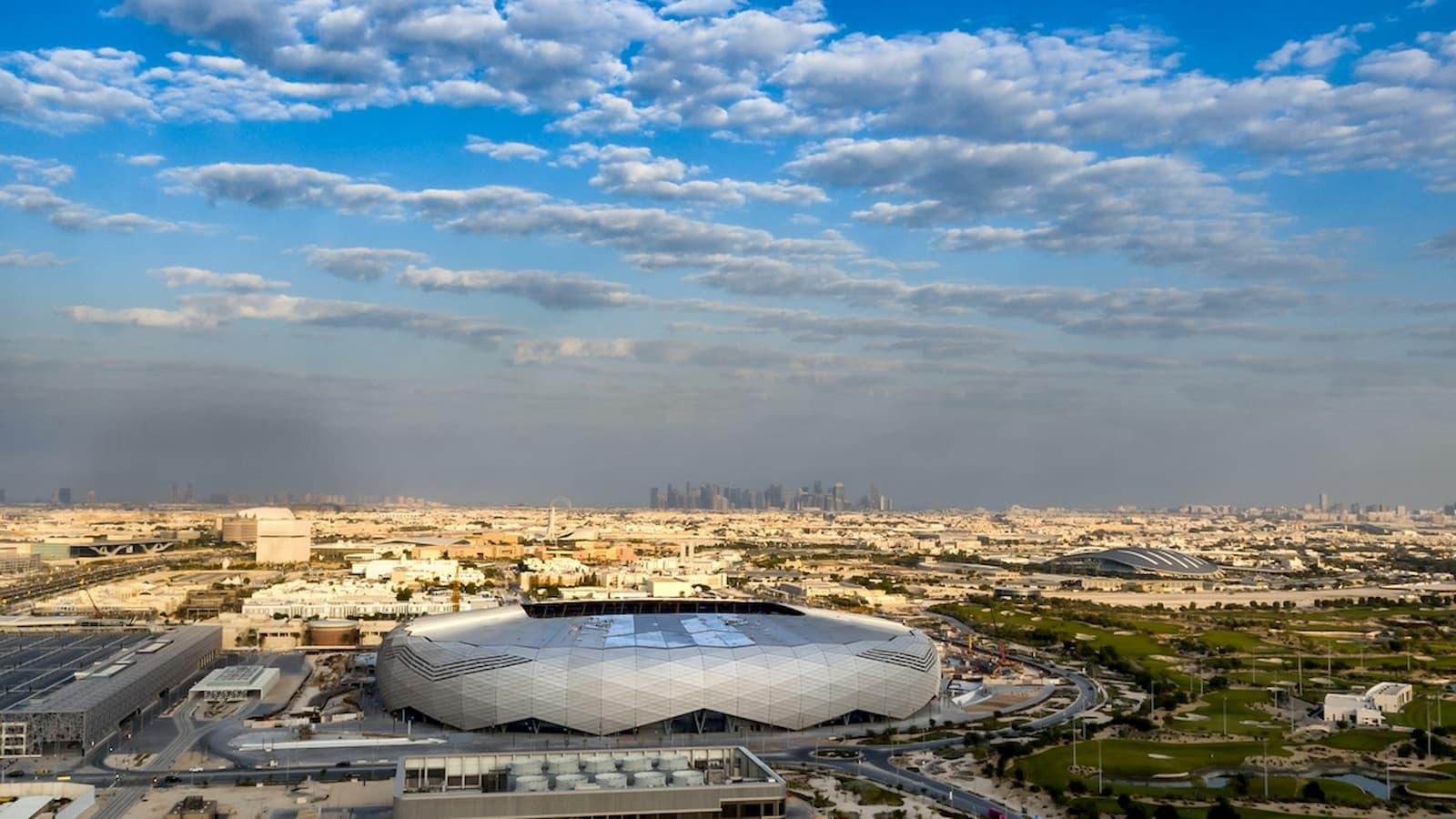 Education City Stadium hosts its first official match
