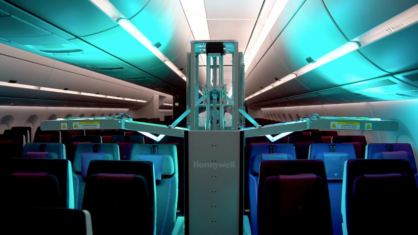 QA becomes first global carrier to operate Honeywell's UV Cabin Cleaning technology