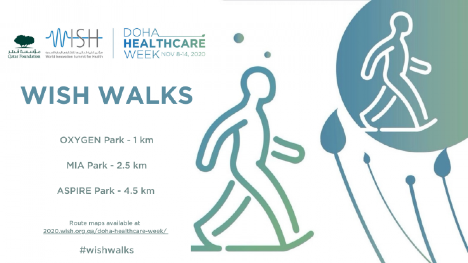 WISH to host 'WISH Walks' in the beautiful public parks of Qatar
