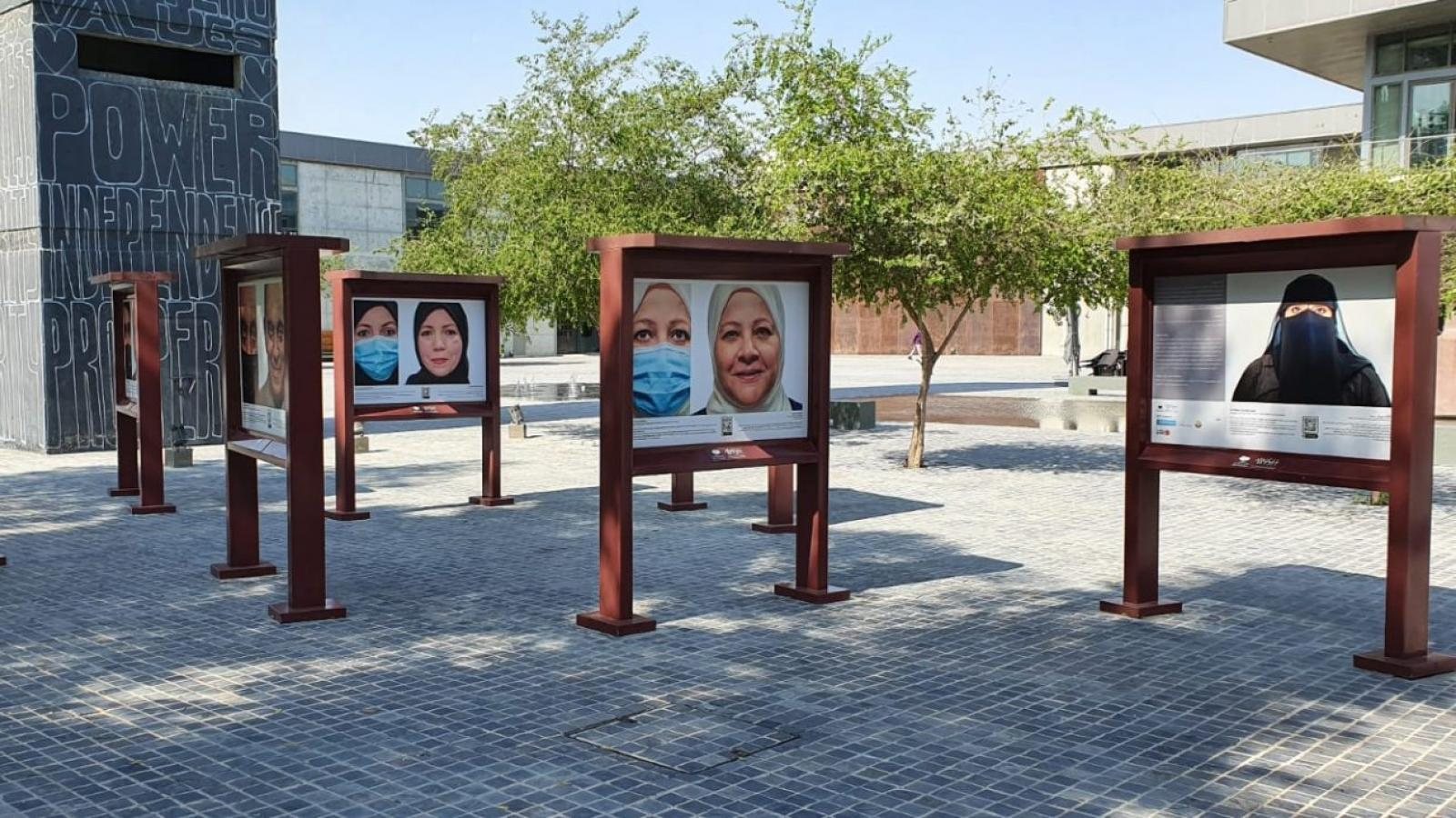 Photographic exhibition celebrating Qatar's healthcare workforce opens at Doha Fire Station