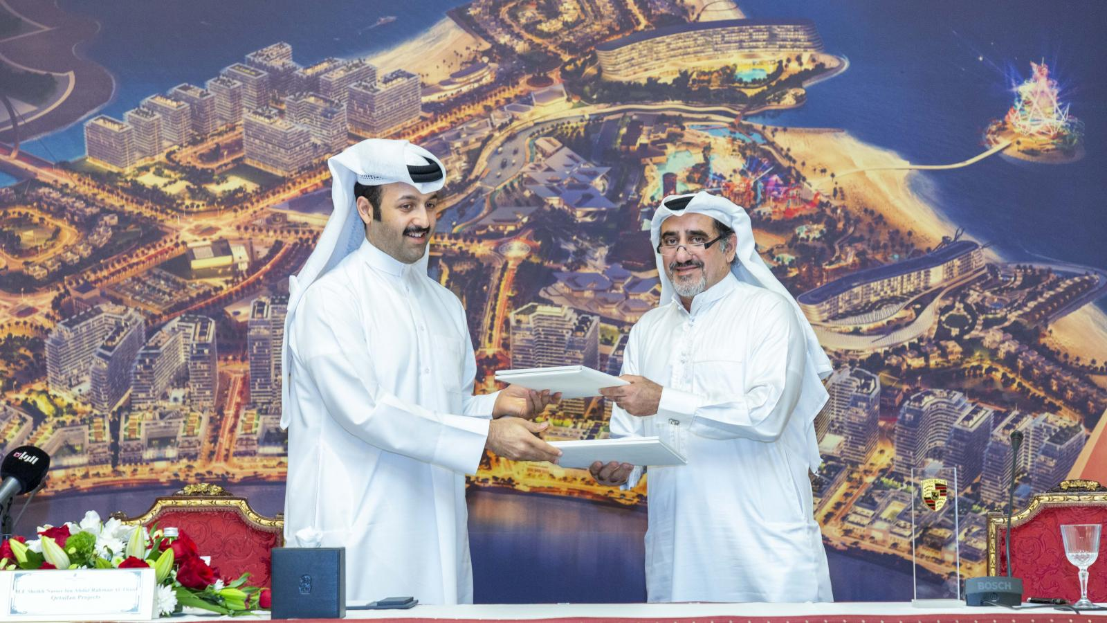 Qetaifan Island North launched the sales of second phase of residential villa plots