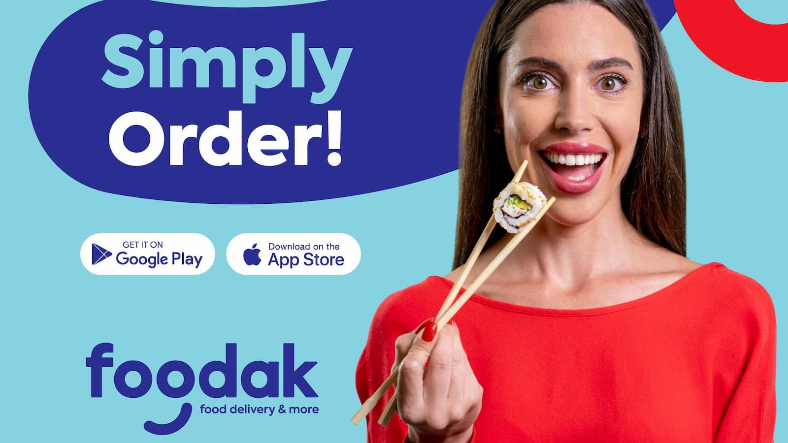 Relish flavors from around the world with Foodak