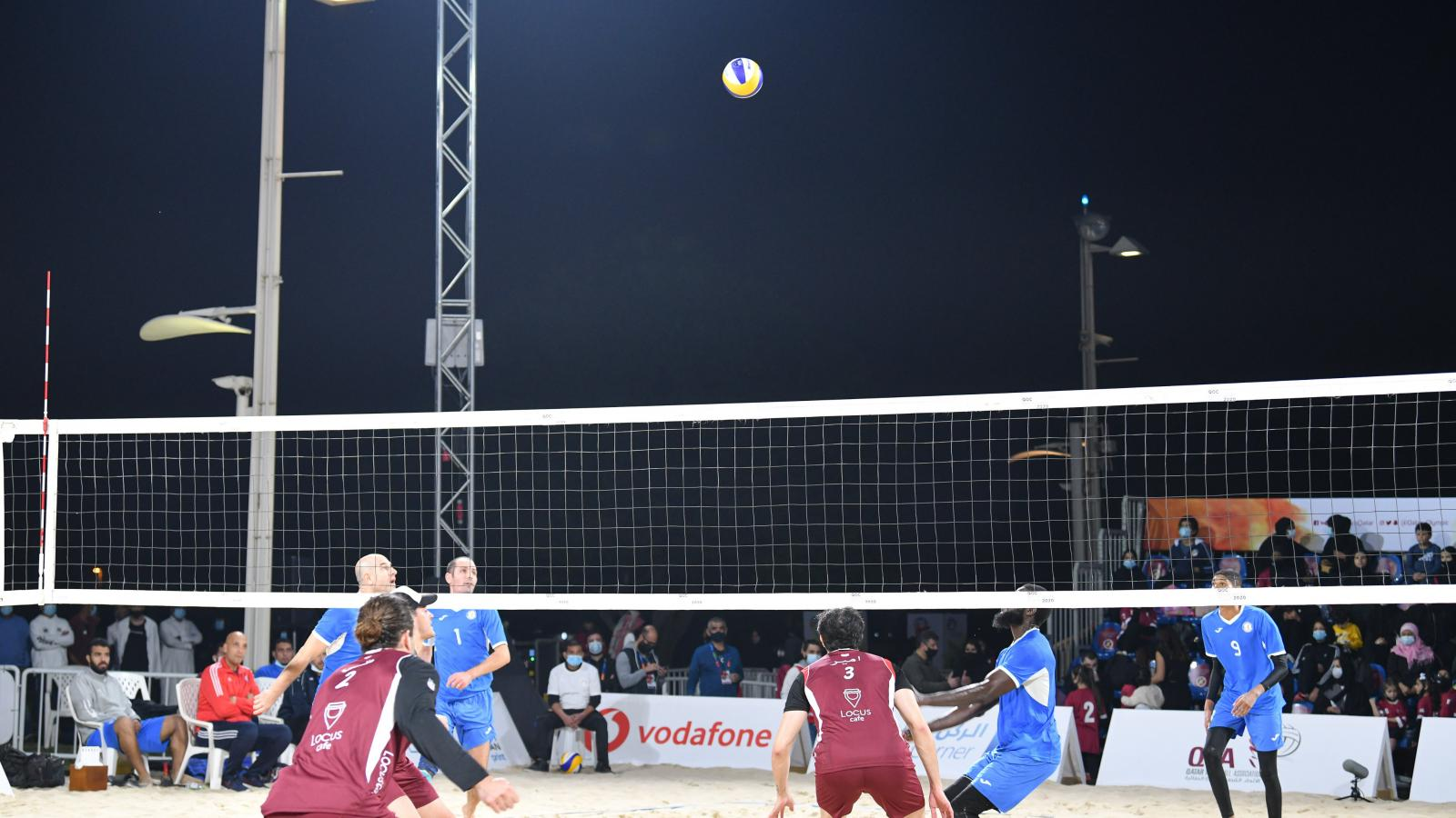Inaugural QOC Beach Games ends with exciting actions in men's events