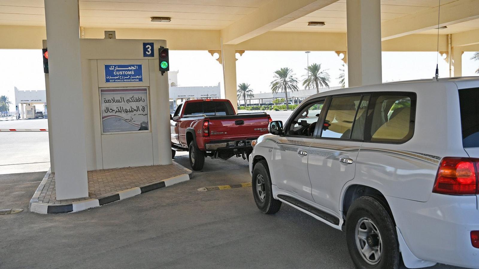 Over 900 vehicles cross Abu Samra border in three days: Qatar Customs