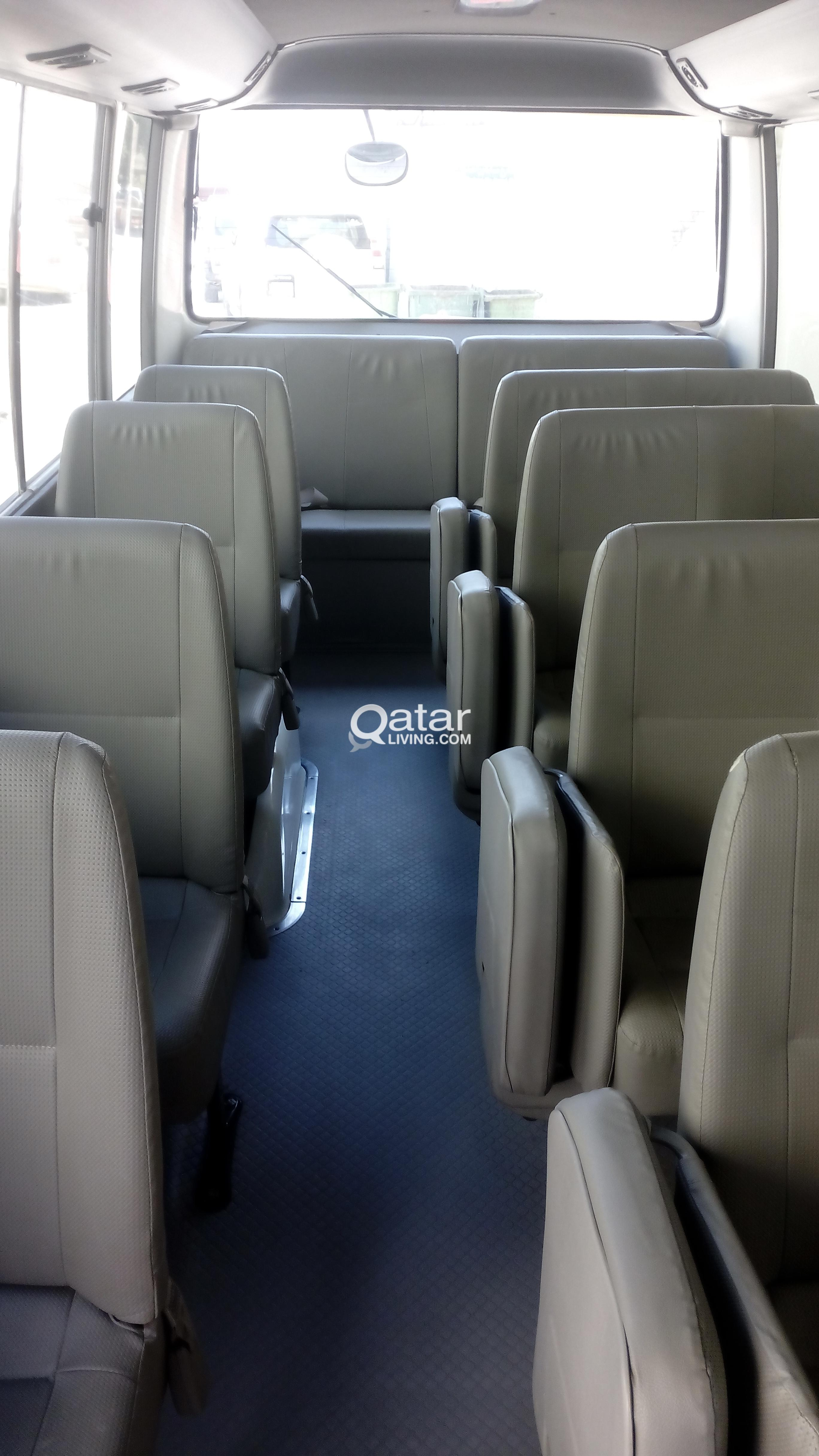 Toyota bus for Rent excellent condition neat and c