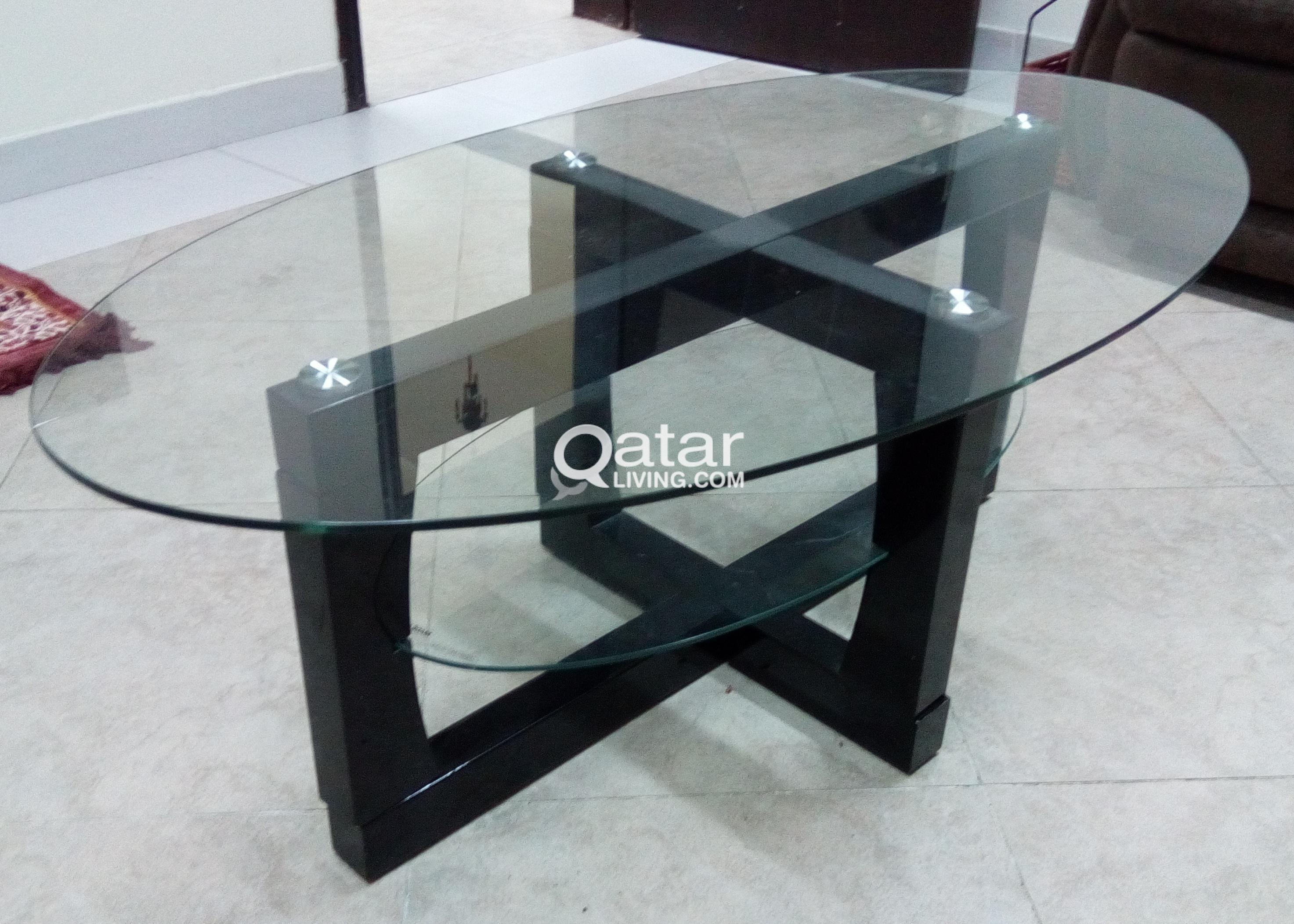 Glass Tea Table Qatar Living