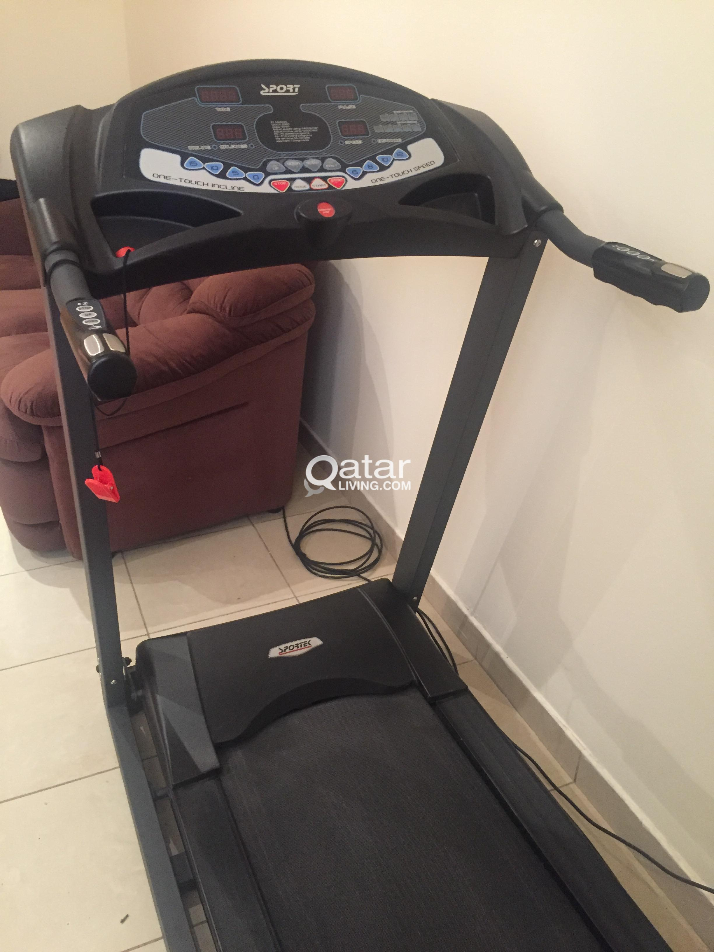 Sportek Treadmill For Sale Qatar Living Innovative, easy to install, intuitive and perfect looking, sportek products are designed by cyclists for cyclists! sportek treadmill for sale qatar living