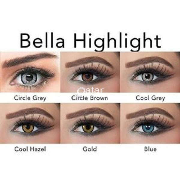 Bella Cosmetic Contact Lenses عدسات بيلا الاصليه | Qatar Living