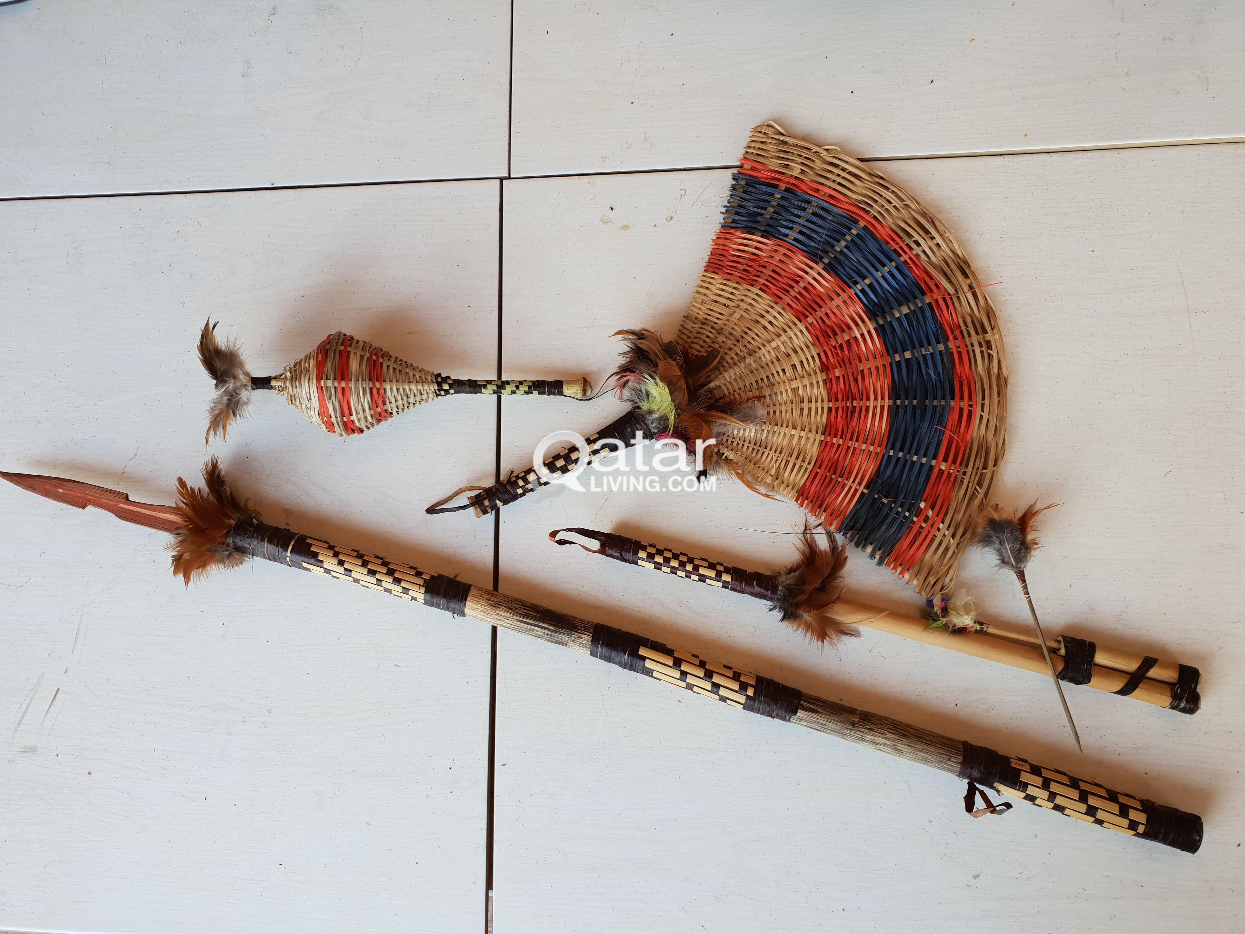 Original handmade Brazilians Indigenous handcrafts