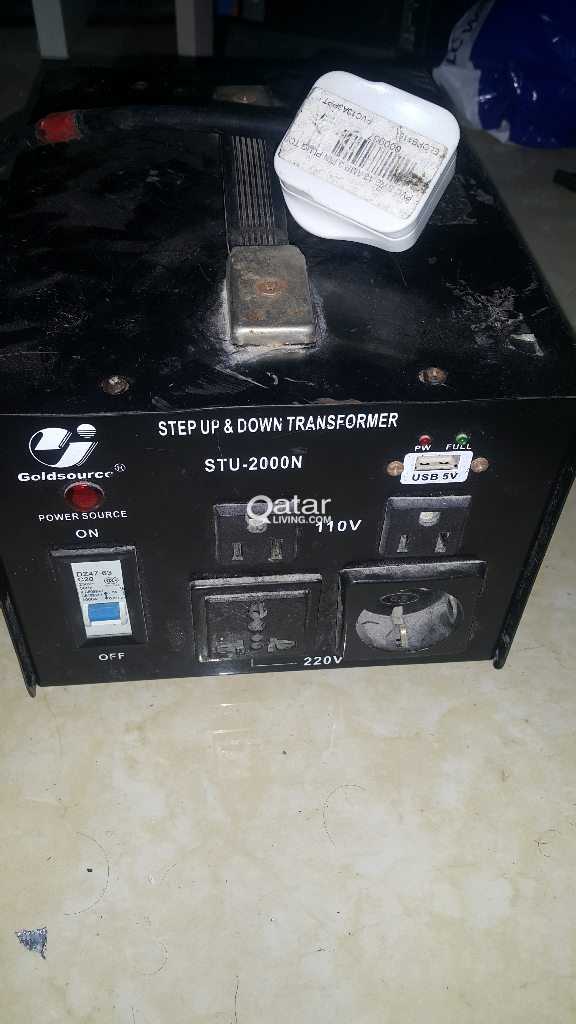2000 Watts transformer step down 110v