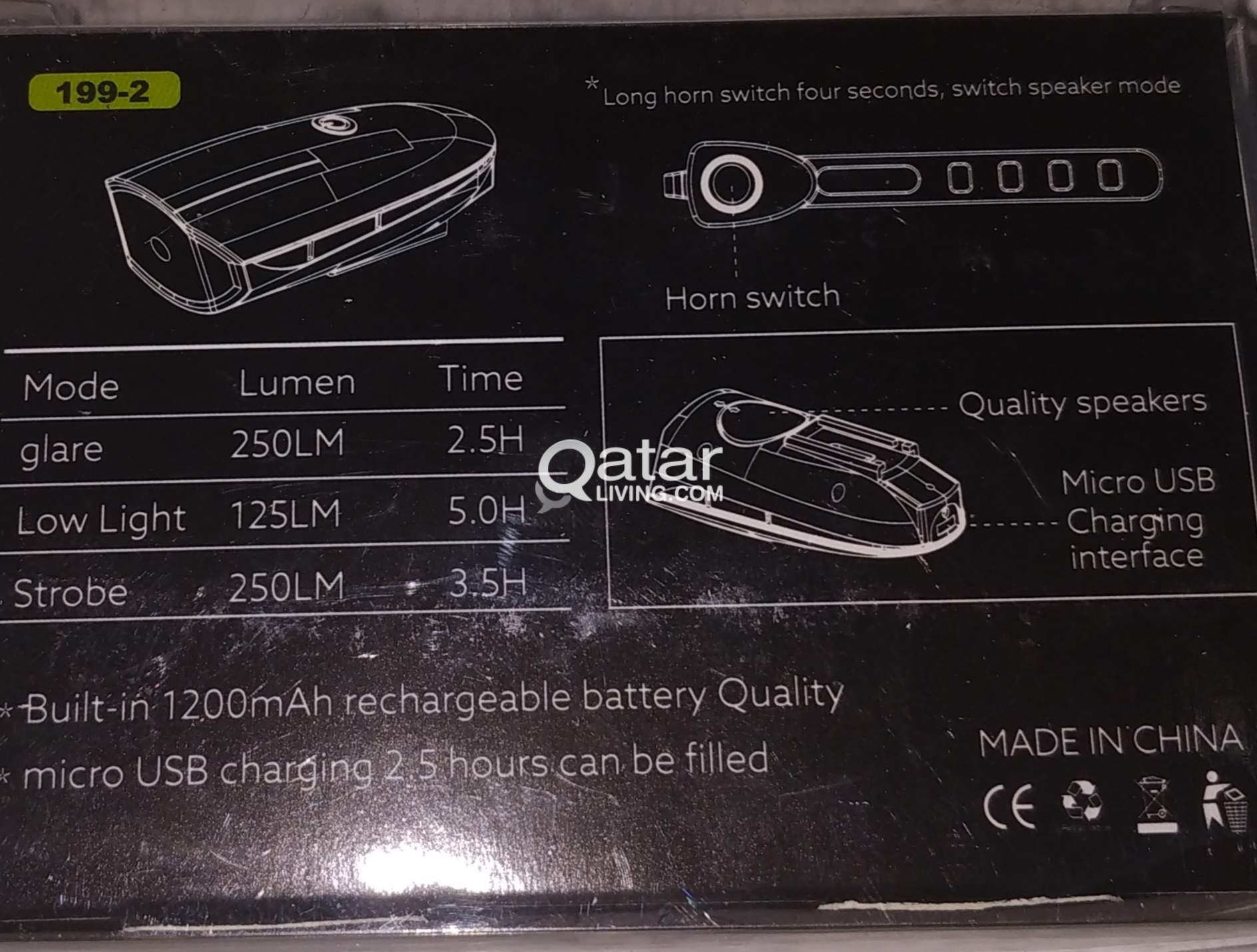 NEW ARRIVAL IN QATR BICYCLE LED LIGHTS