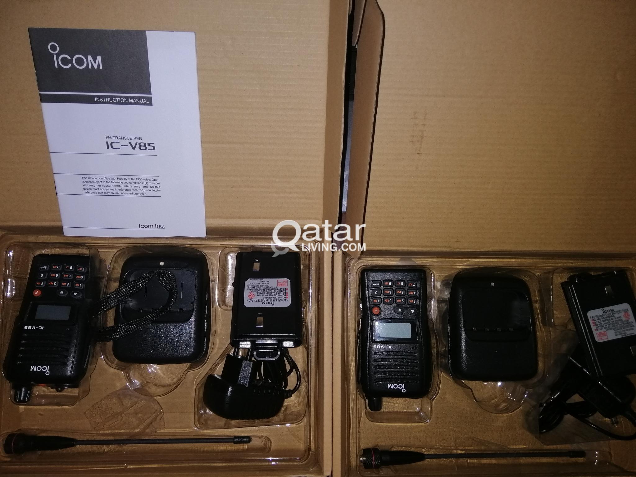 ICOM PTT Radio (Walkie Talkie)