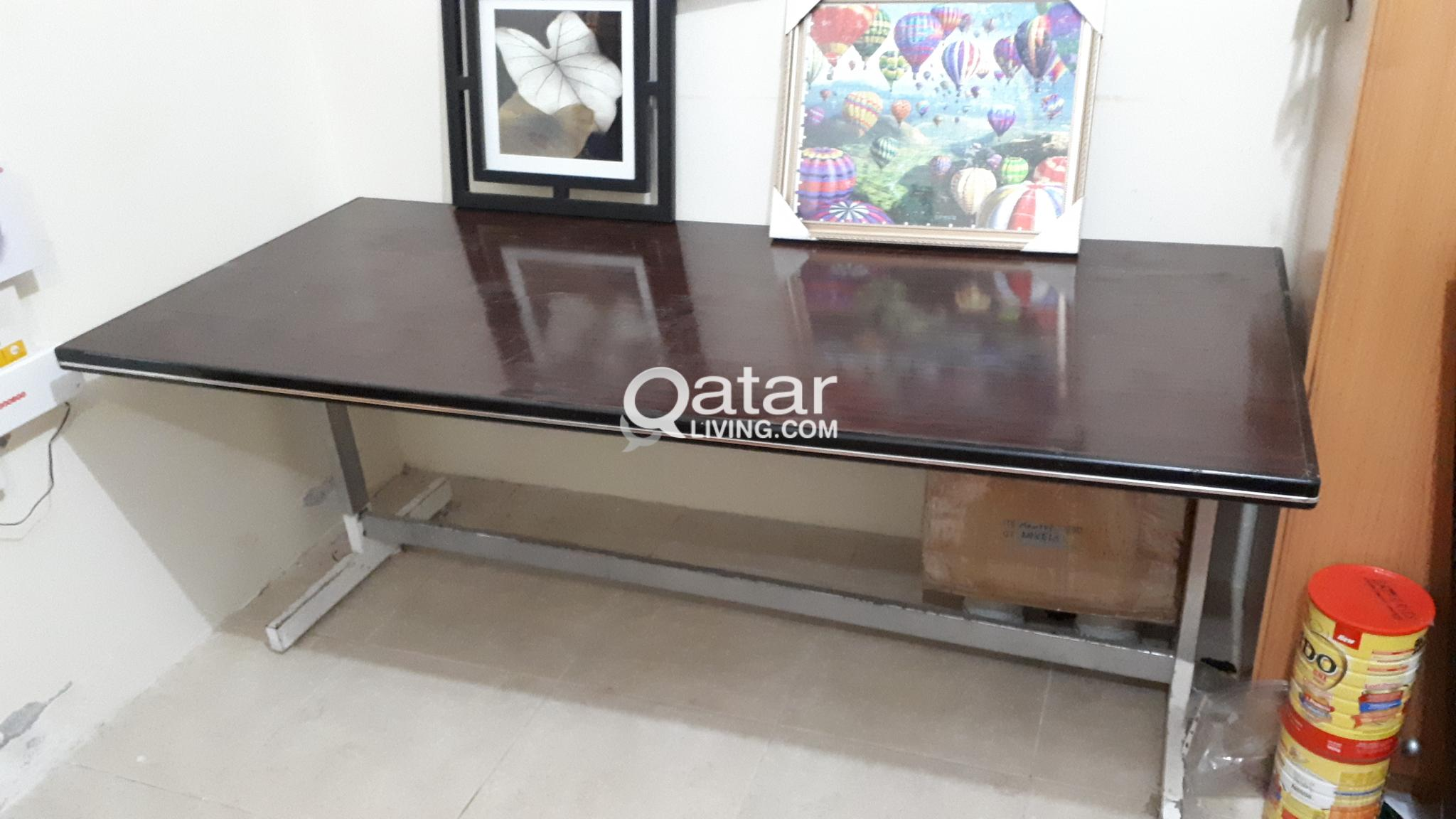 Picture of: Strong Long Party Buffet Table Qatar Living