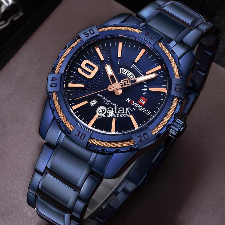 NAVIFORCE Branded Watches Starting from QR.79/