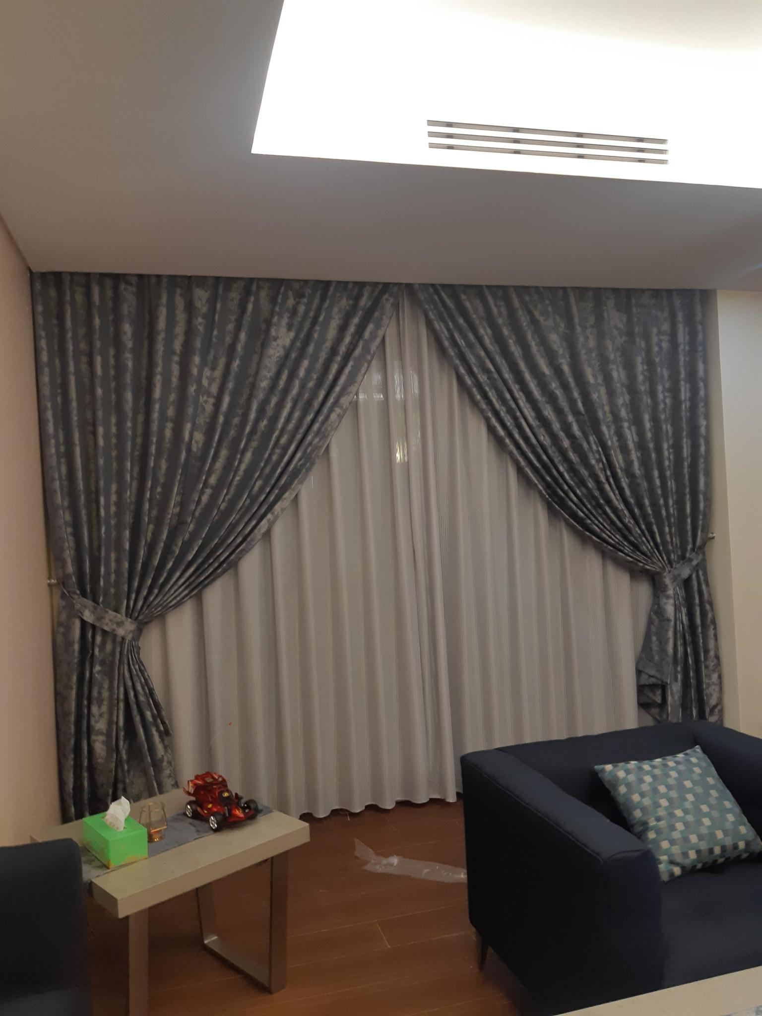 All Curtains,,, Wallpaper ,,, P.V.C for floor,,,,