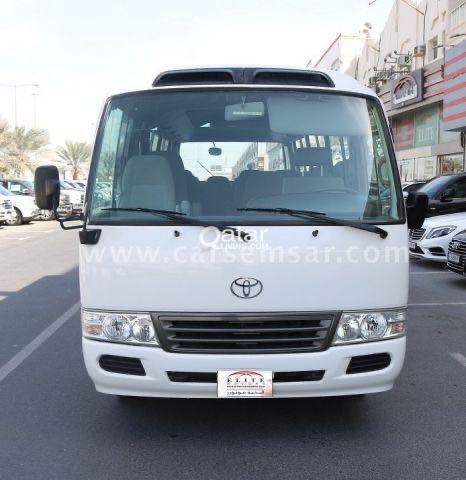 toyota coaster busses for rent