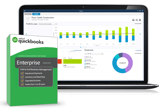 QuickBook Enterprise Accounting 2016