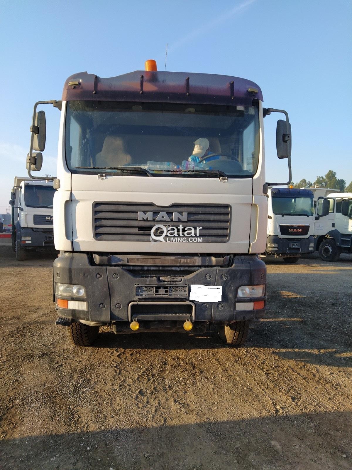 Man Dump Truck