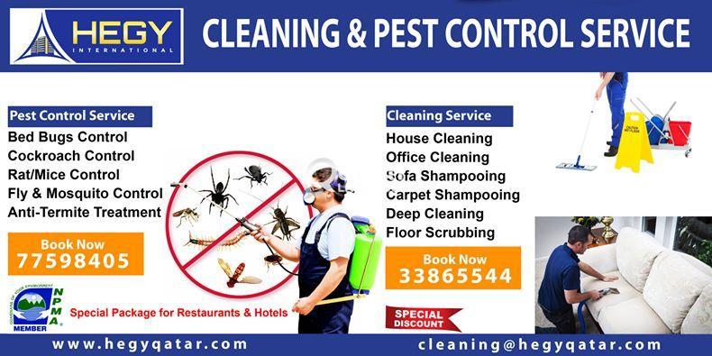Sanitation Services - Cleaning Service - Pest Cont