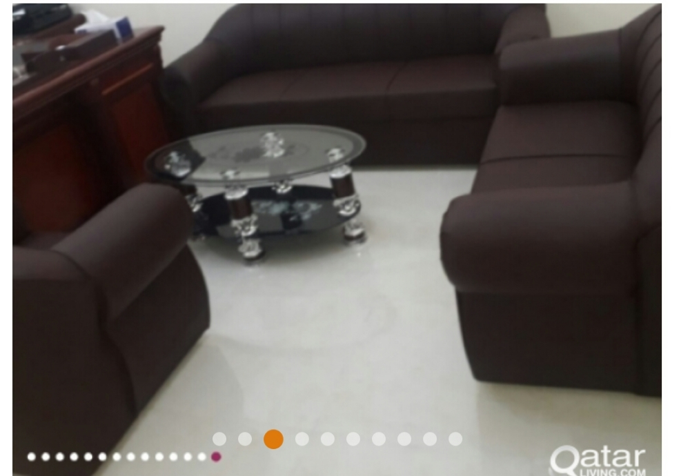 brand new sofas FOR sell QR 1100