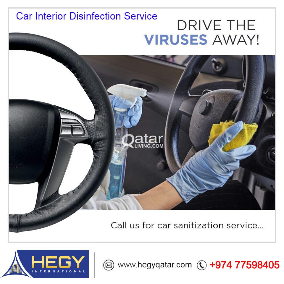 Car Disinfection Sanitation Services
