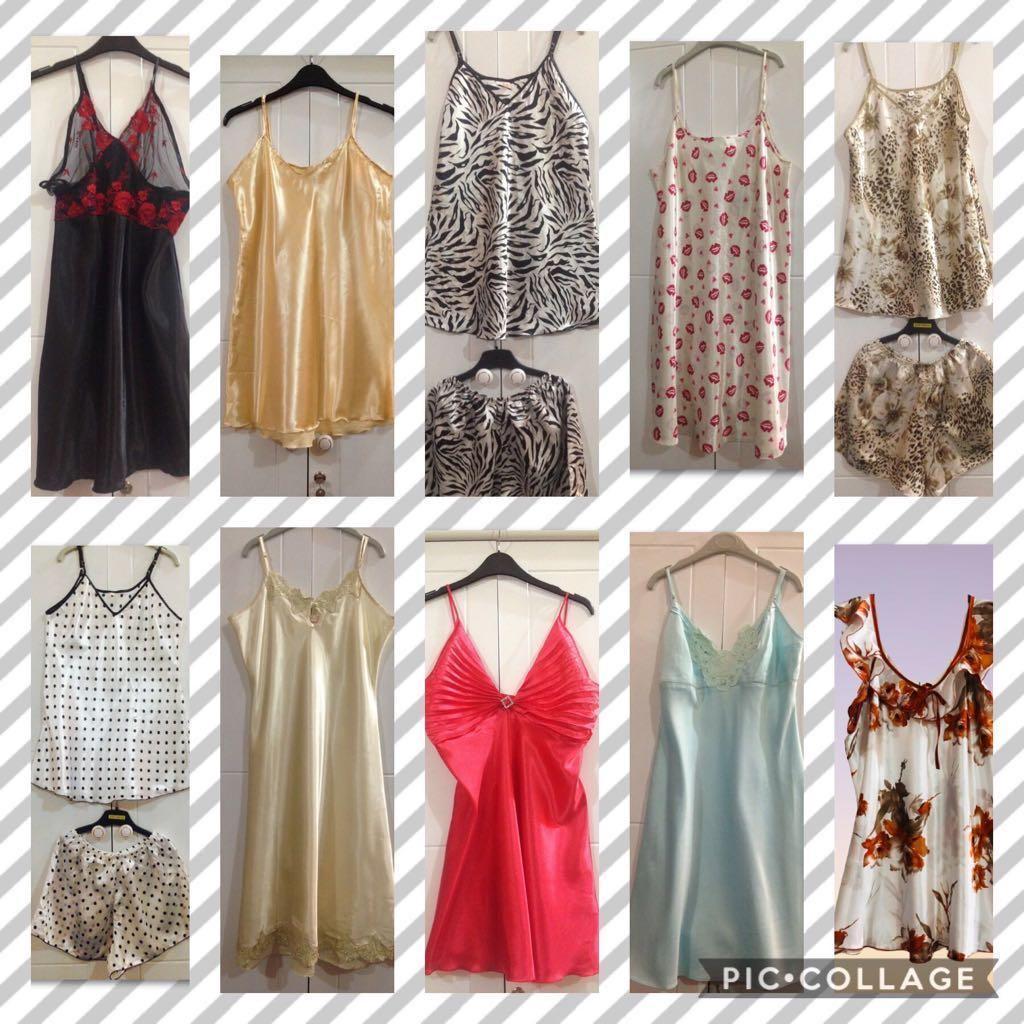 Nightdress, Slip dress, Lingerie (L)