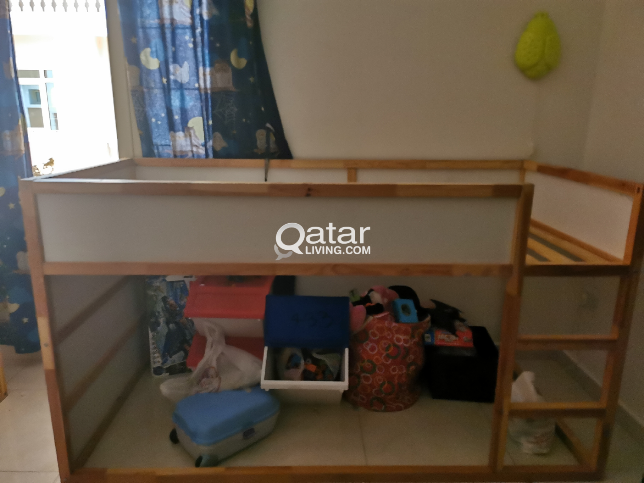 Urgent Sale Ikea Kids Reversible Bed Qatar Living