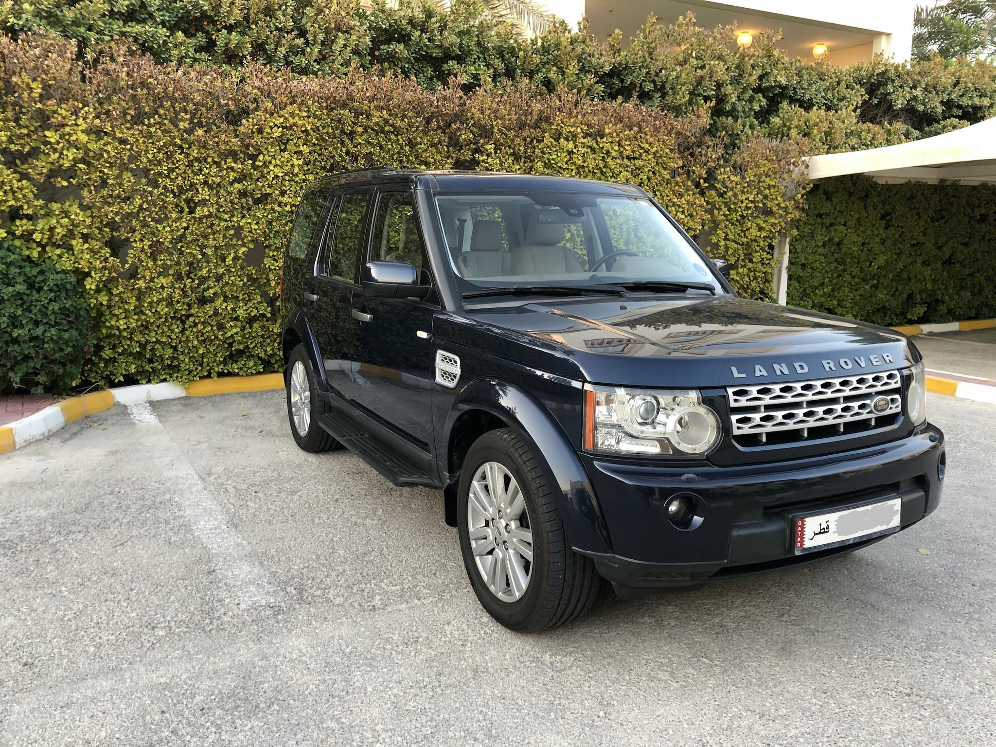 Land Rover LR4 V8 SE