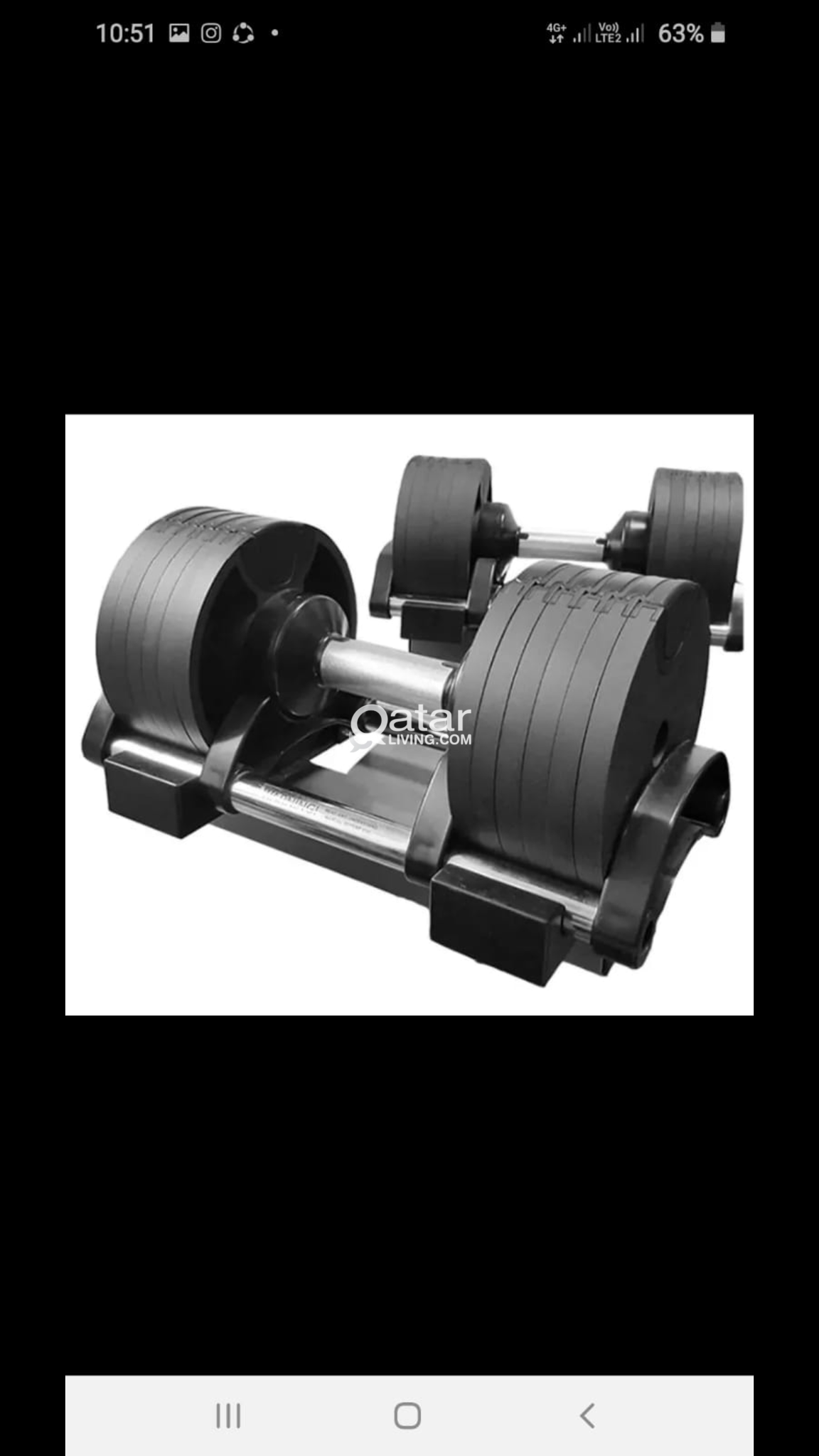Adjustable Dumbbell 20kg each