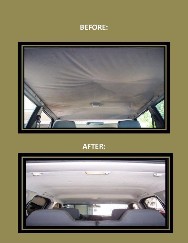 CAR UPHOLSTERY WORK