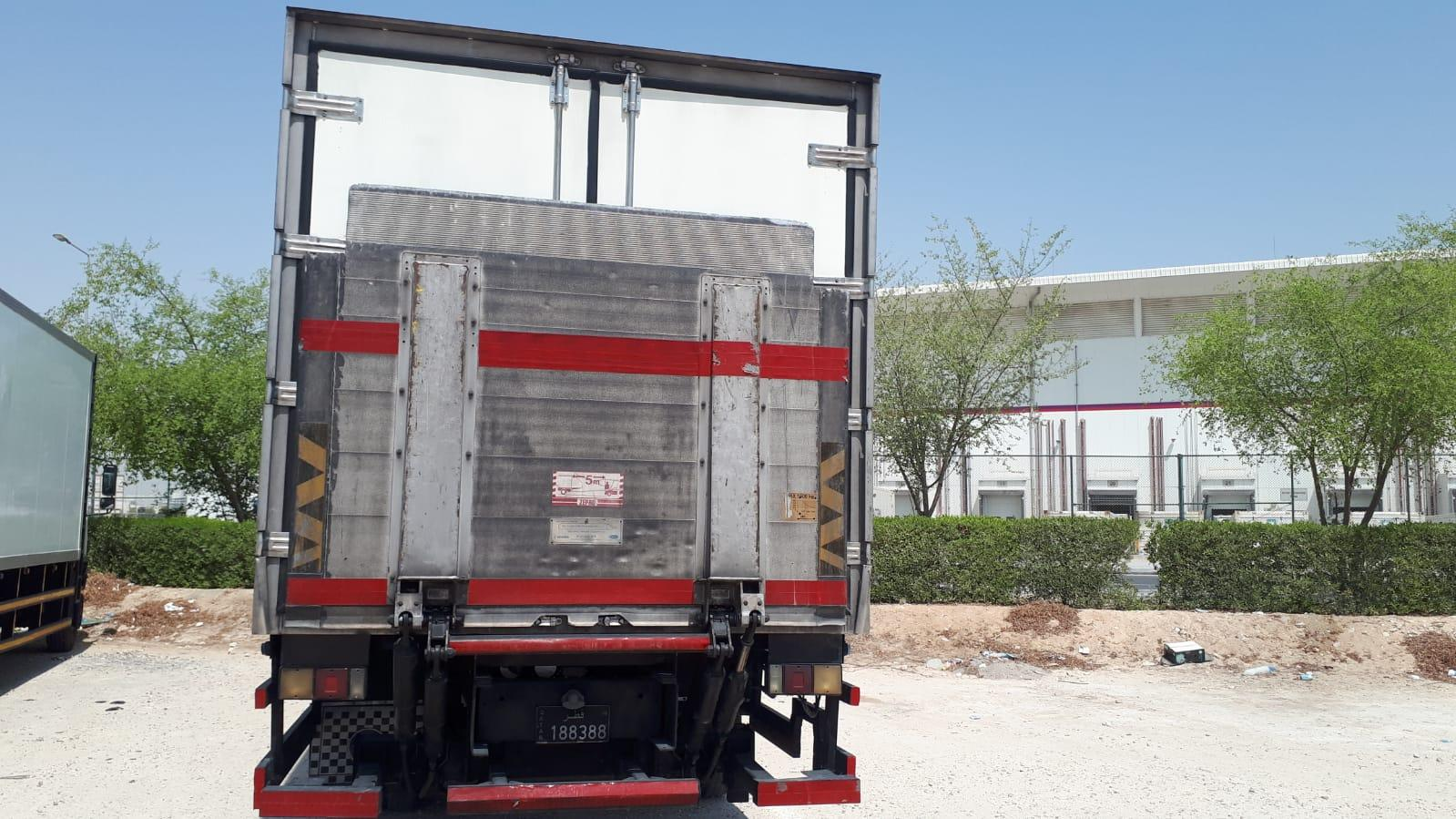 Mitsubishi Fuso Japan 2008 truck with Reefer Box S