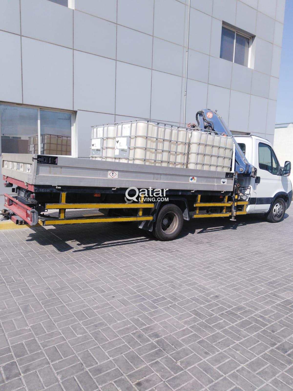 Iveco Boom truck (3 ton capacity)