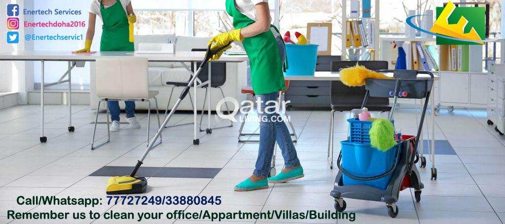 Cleaning Services - Wakra/Messaid (Satisfaction Gu