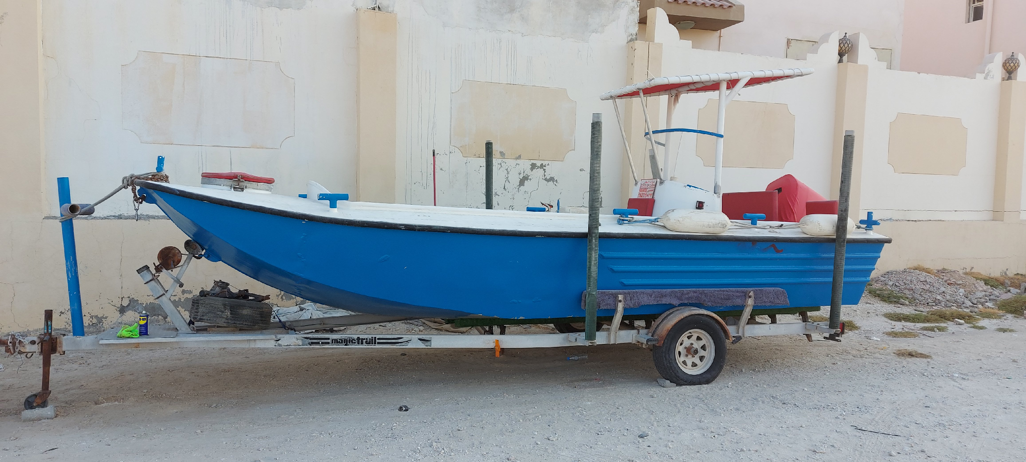 21ft Boat with 150HP Yamaha 2 Stroke with Trailer