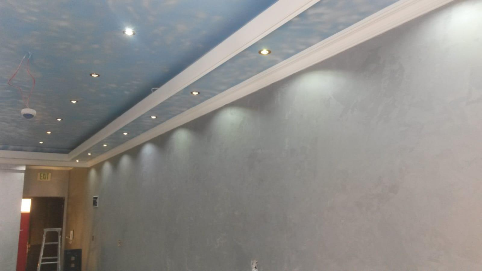 Painting, Gypsum board, Tiles, hadid, waterproofin
