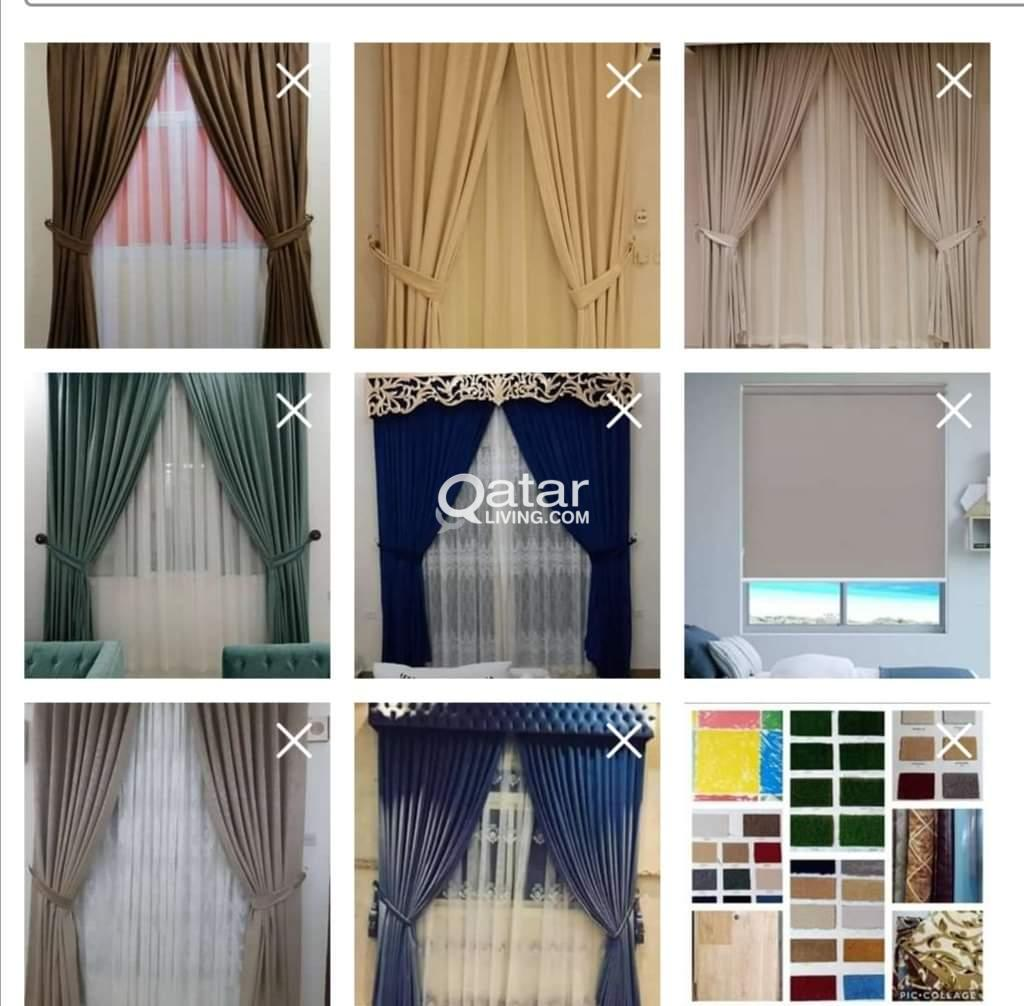 We are doing curtain, Sofa, Carpet, Wall paper..Pl