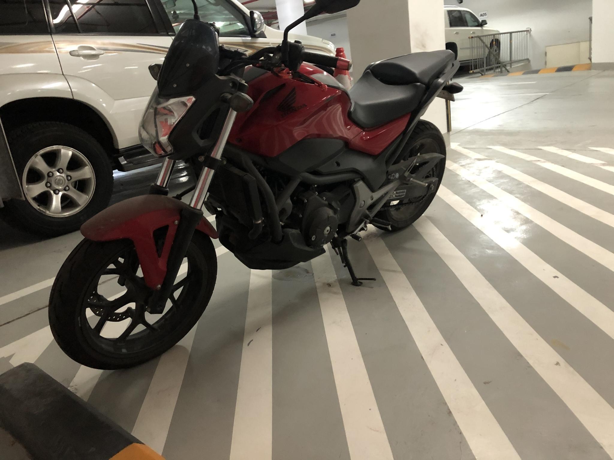 Honda NC700S 2014