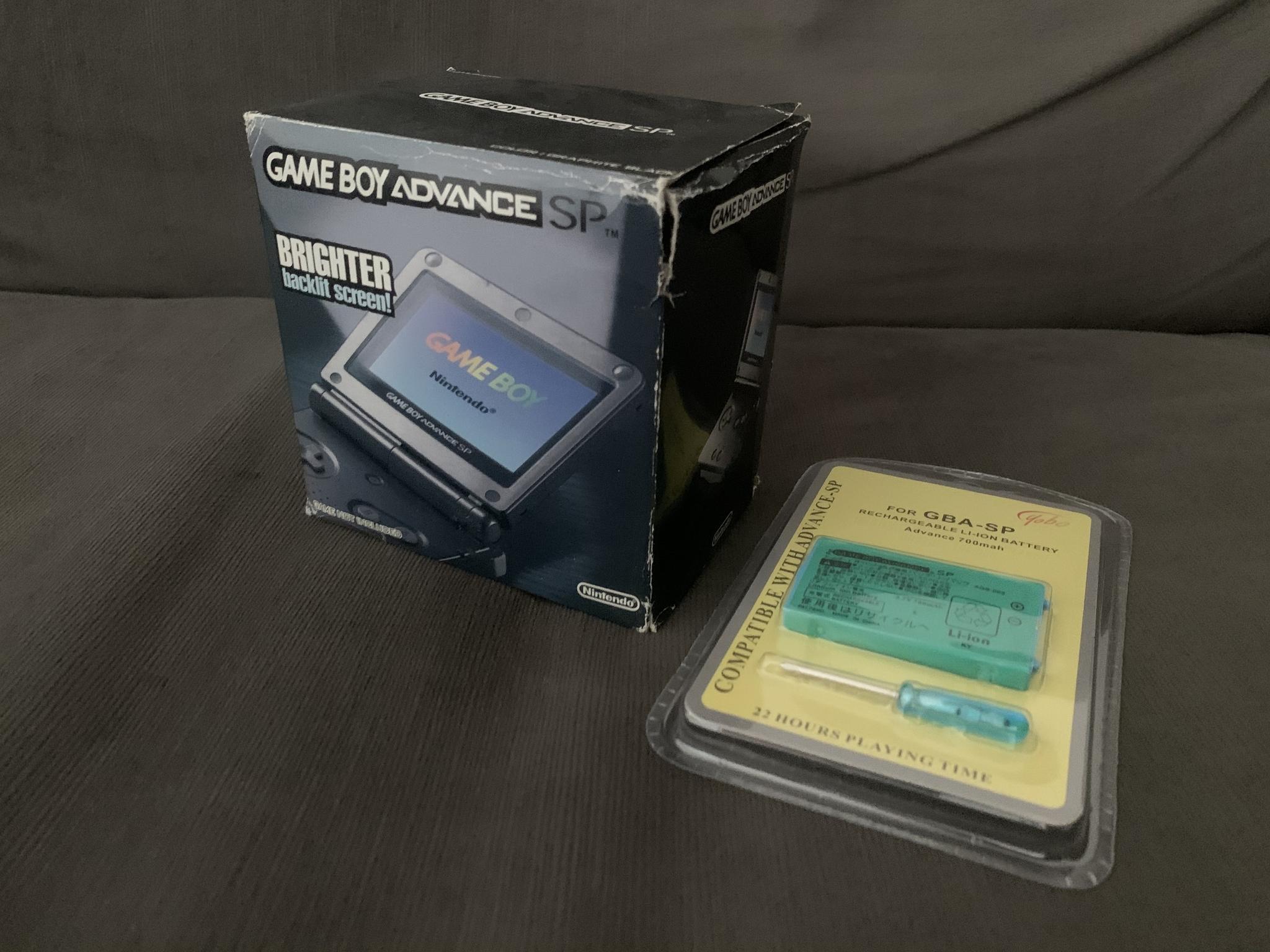 Brand new sealed still in box Game Boy Advance SP