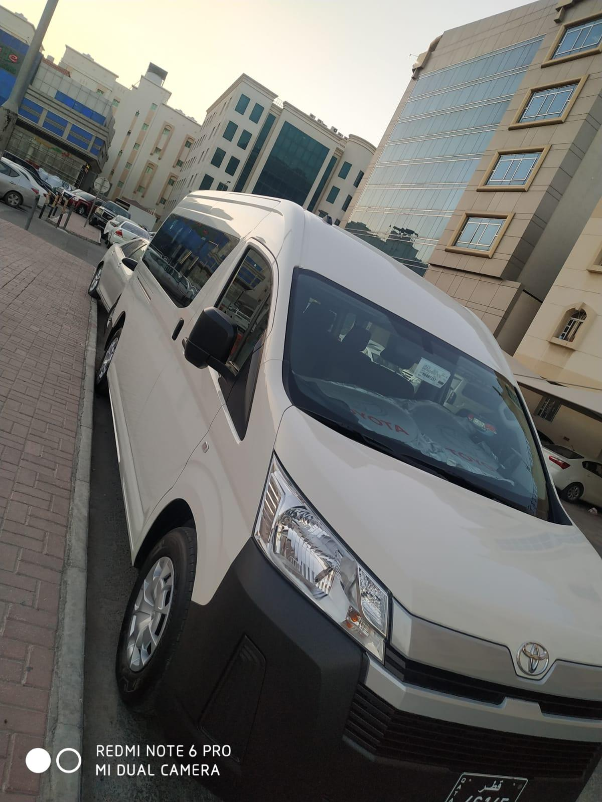 MINI BUSE FOR RENT (HIACE)BRAND NEW