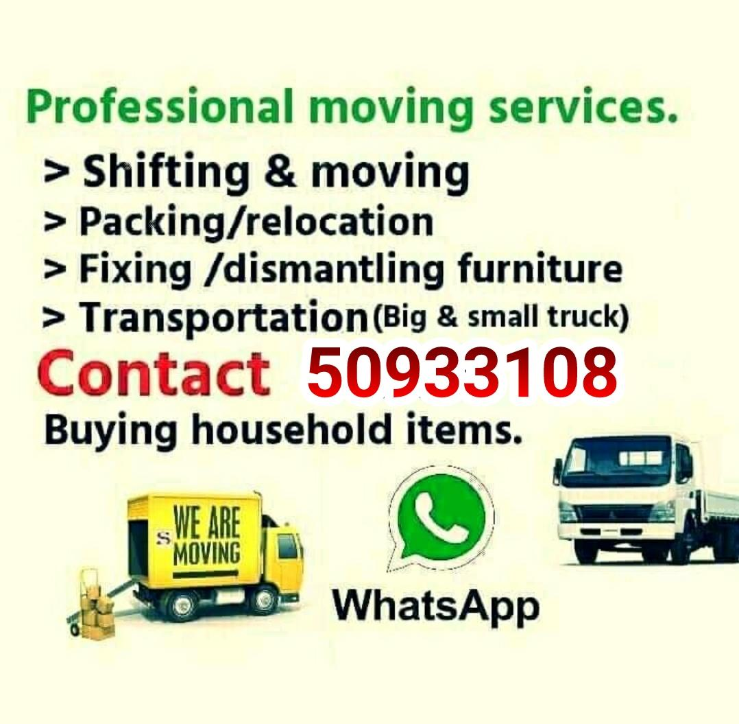 Qatar best shifting  moving  service call:-5093310