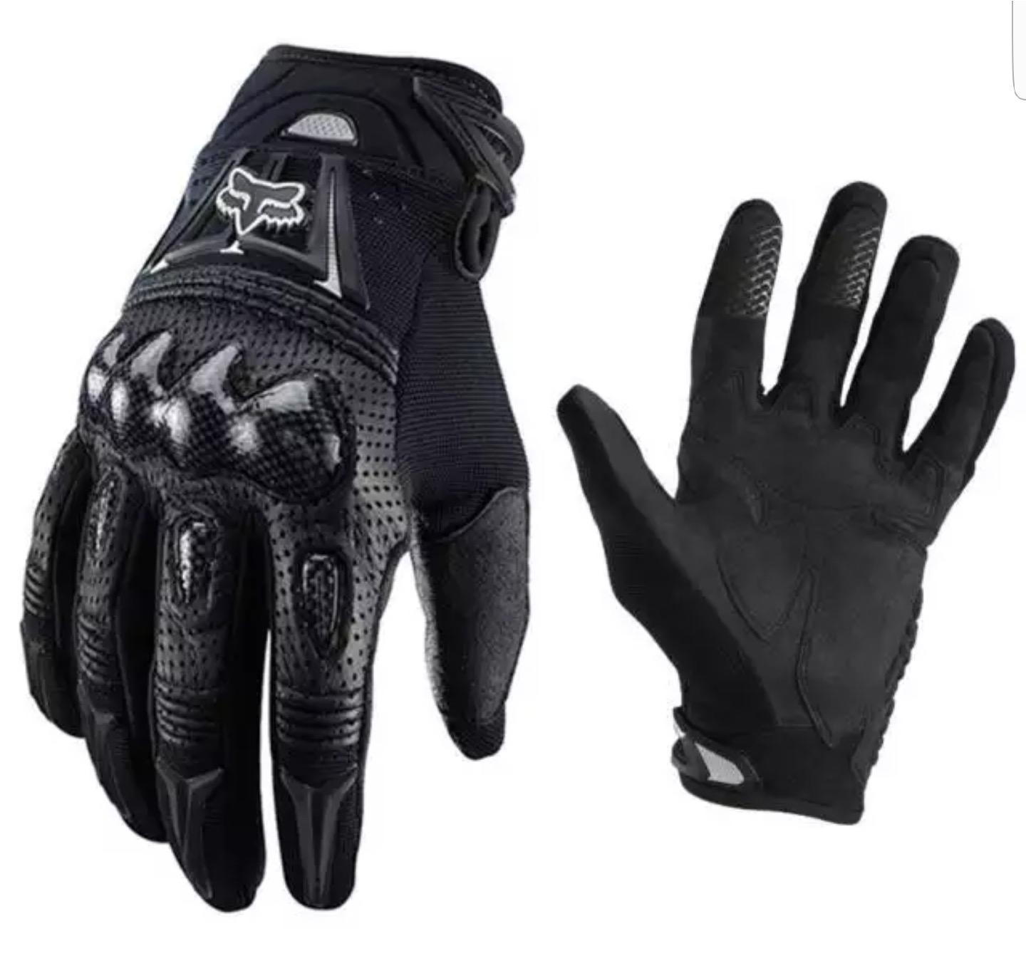 Motorcycle  gloves and leg bags
