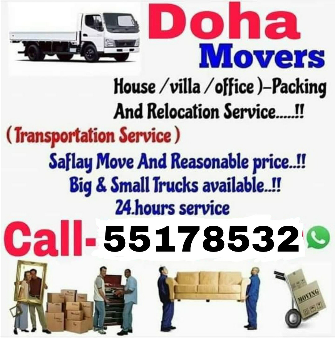 All type of shifting and moving. Please call 55178