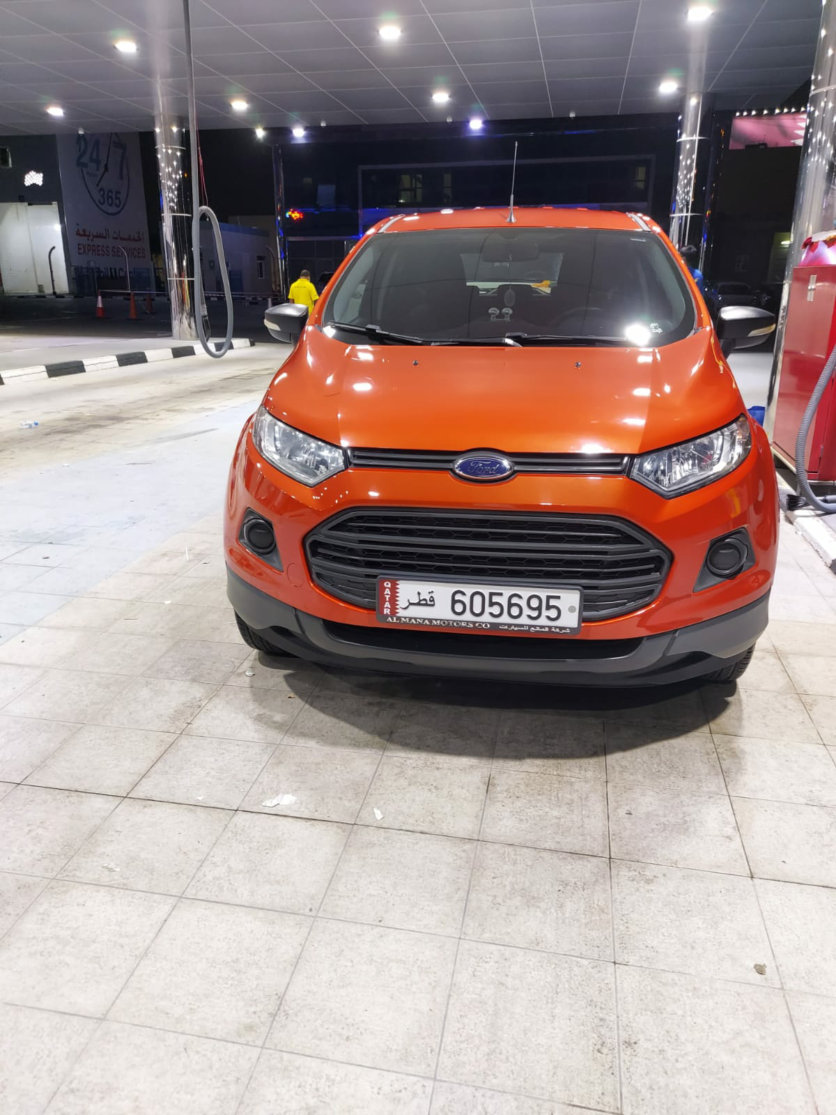 Ford ecosports 2017 model purchased in 2019